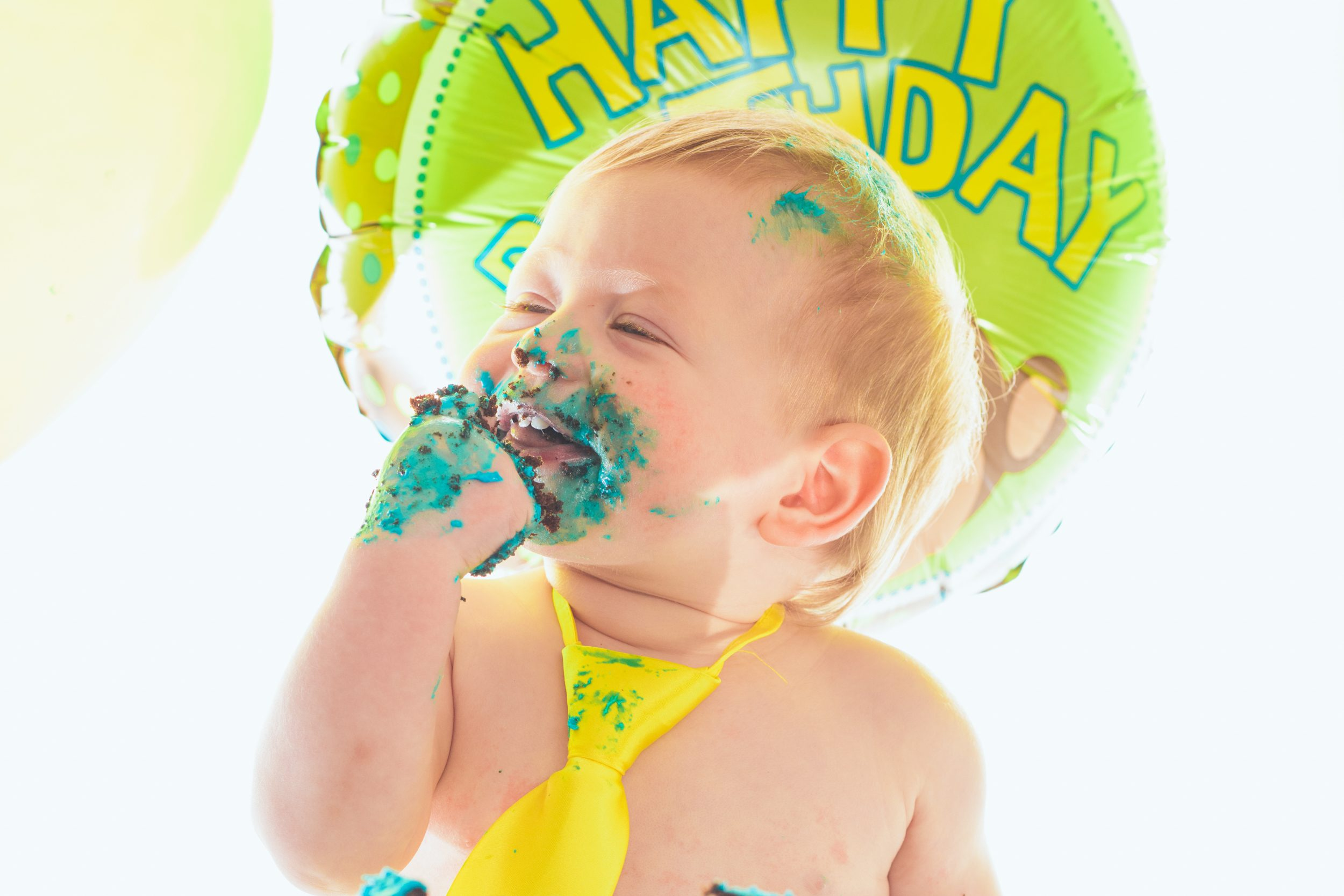 Angus Loved his baby cake smash. Pause The Moment Family Photography