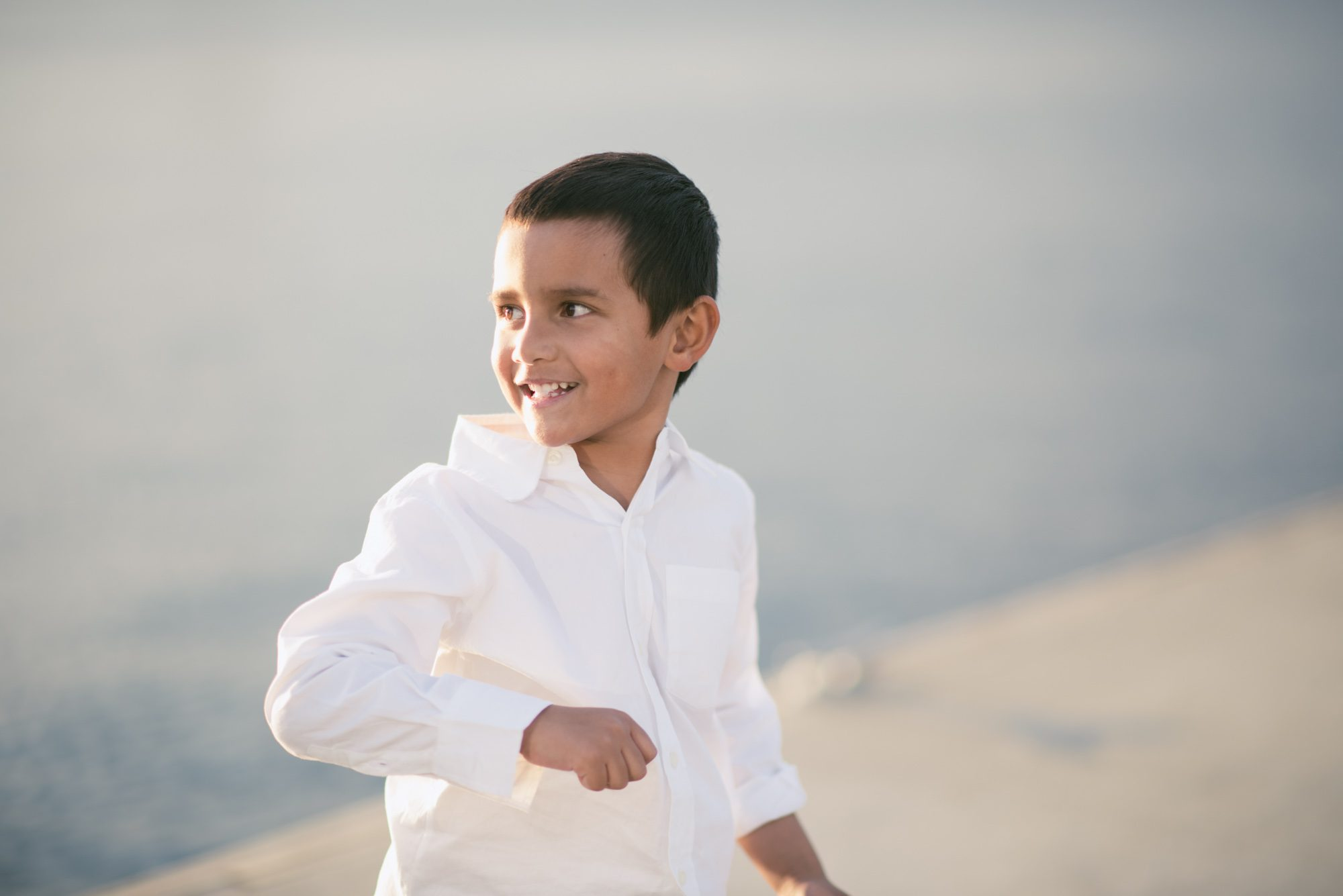 Cute boy in the sunlight - Melbourne Family photography.