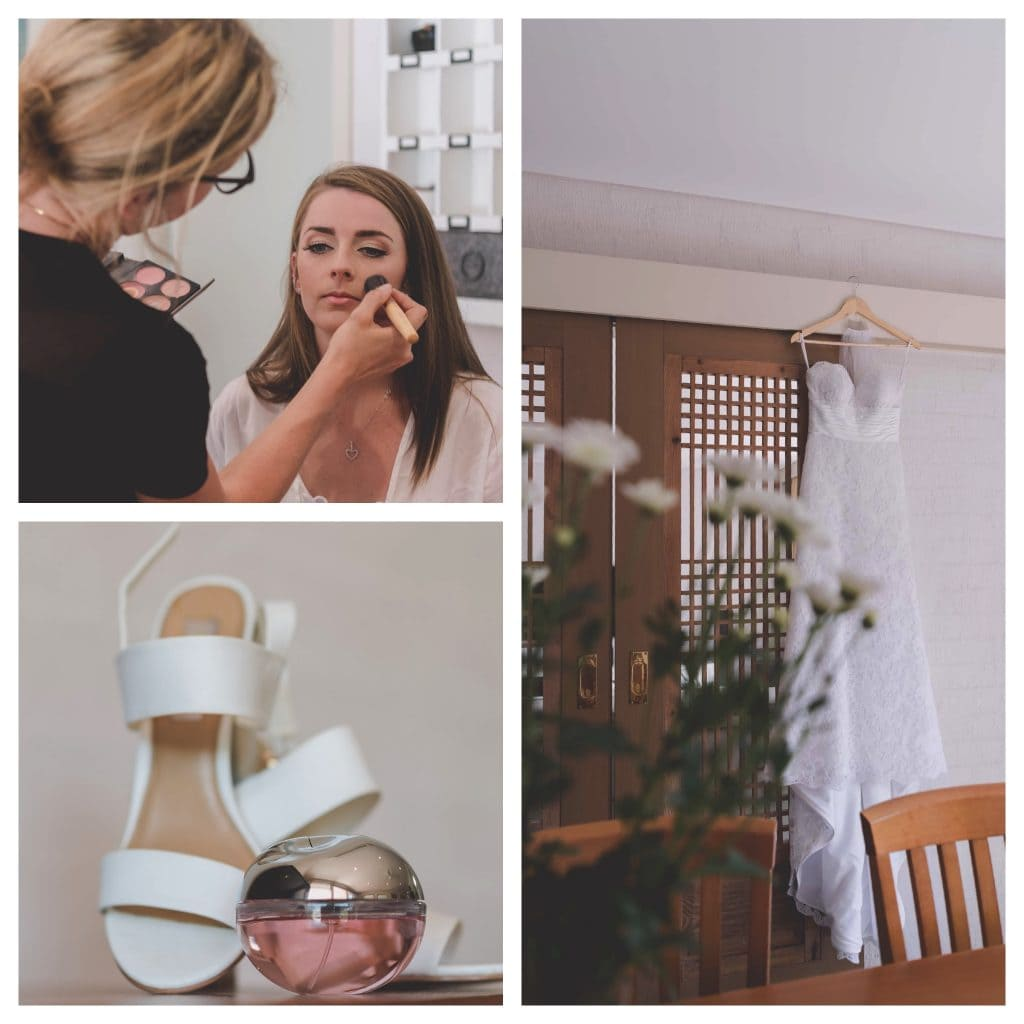 Lauren gets ready for her Mornington Peninsula wedding