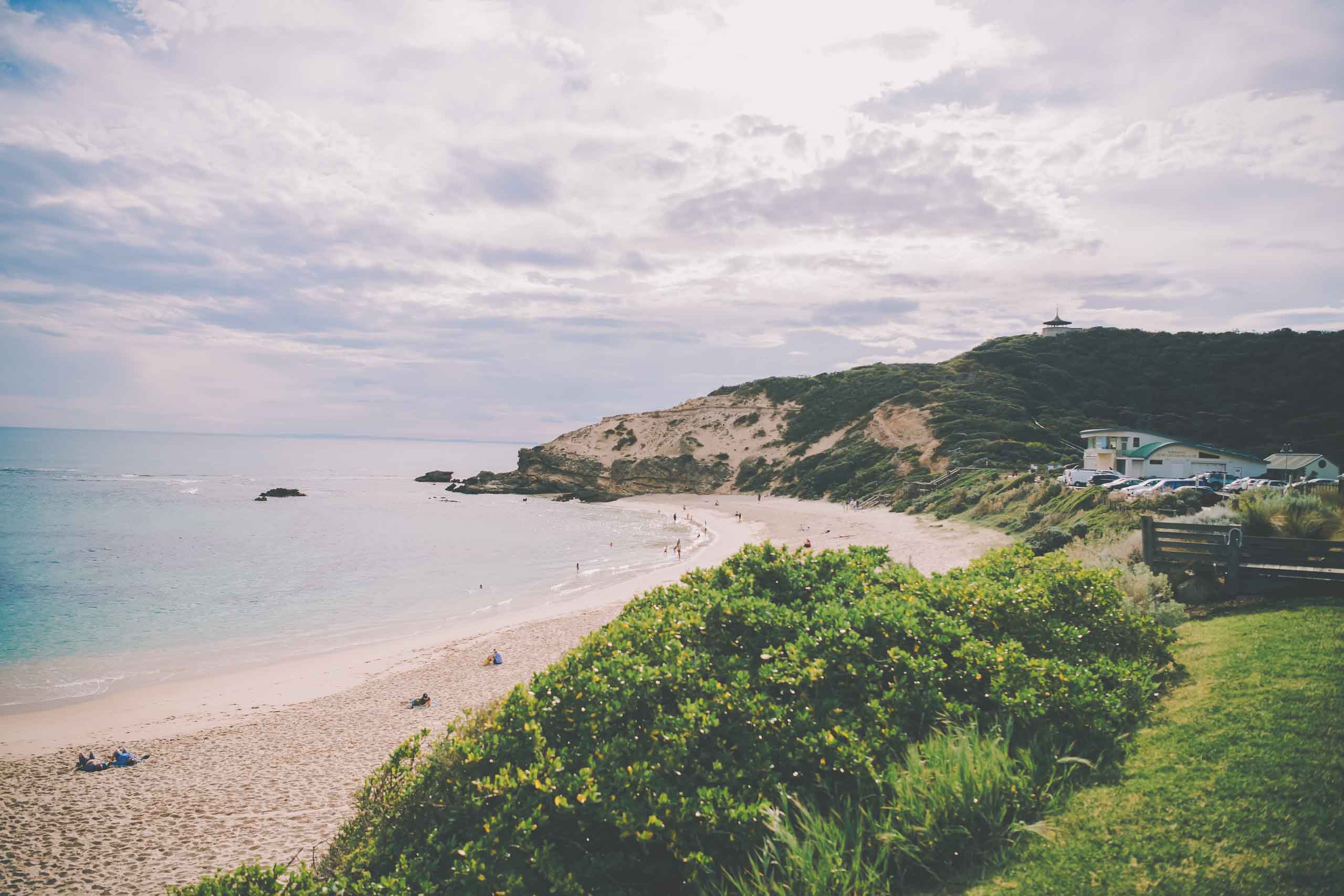A picture of Sorrento beach, a great place for wedding photography